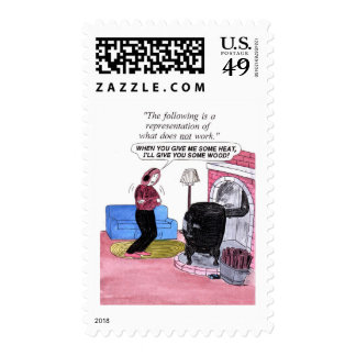 Oops, Forgot the Wood Postage Stamp
