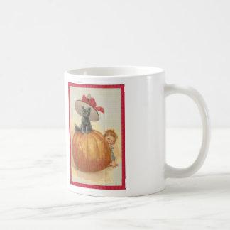 Oops, He found Me! Cross Stitch Coffee Mug