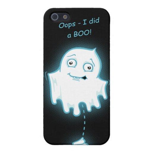 """""""Oops - hice caso de Halloween IPhone 4 de un abuc iPhone 5 Carcasas"""