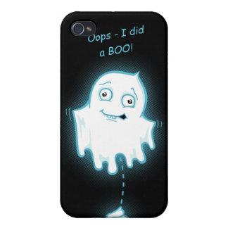 Oops - hice caso de Halloween IPhone 4 de un abuc iPhone 4 Protectores