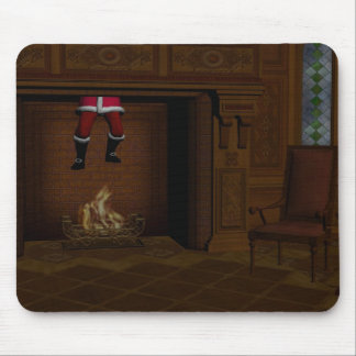 Oops - Hot Surprise For Santa Claus Mouse Pad