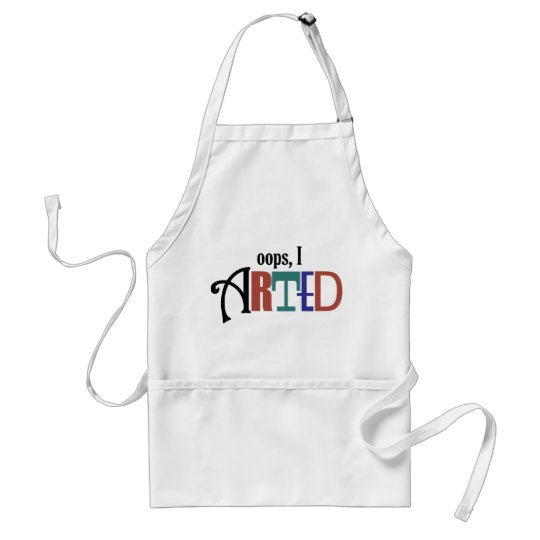 Oops, I Arted Apron