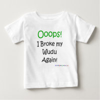 Oops I broke my wudu again!