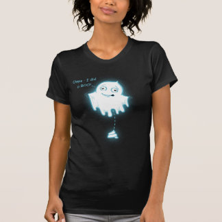 """Oops - I did a Boo!"" Halloween Ghost Design Tshirts"