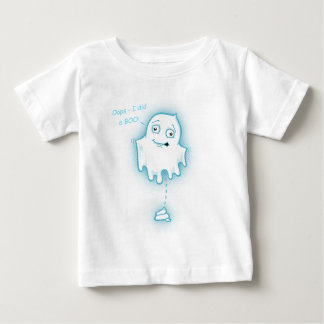 """Oops - I did a Boo"" Halloween Ghost for Infant Baby T-Shirt"