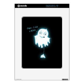 """""""Oops - I did a Boo!"""" Halloween Ghost iPad Decal"""