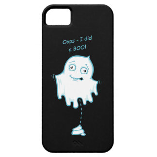 """""""Oops - I did a Boo"""" Halloween/Ghost Phone Case iPhone 5 Case"""