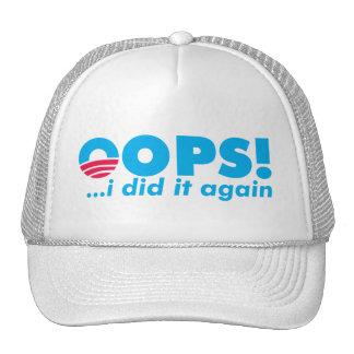 OOPS! I DID IT AGAIN CAP HAT