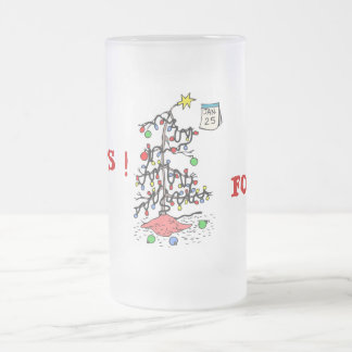 Oops I forgot Christmas Funny Frosted Mug
