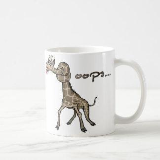 Oops… Jirafa Taza De Café