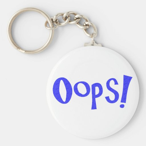 Oops! Keychains
