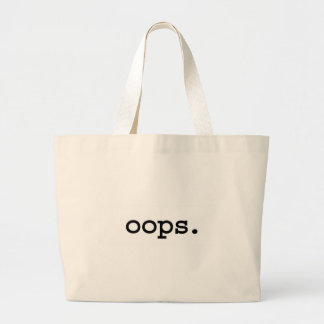 oops. large tote bag