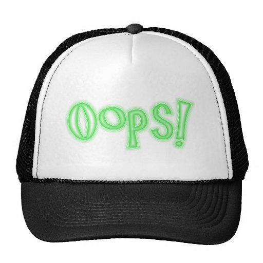 Oops! Mesh Hat