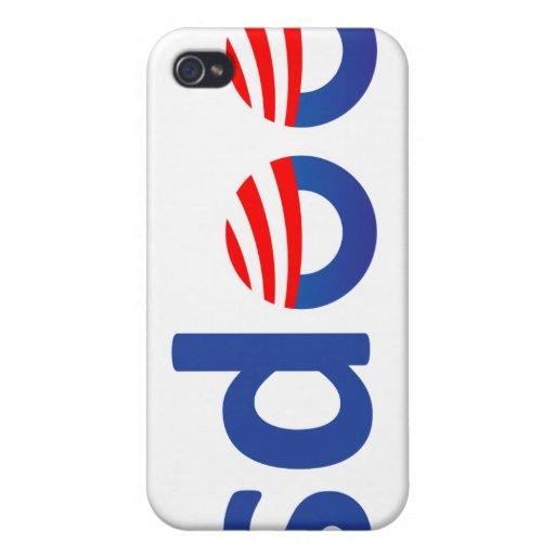¡Oops! Obama iPhone 4 Fundas