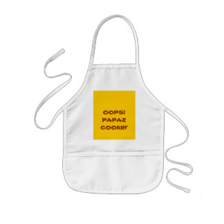 OOPS!PAPAZCOOKIN' - Customized Kids' Apron