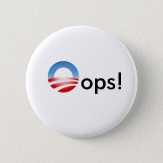 Oops! Pinback Button