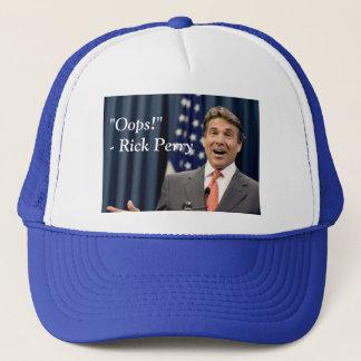 Oops! - Rick Perry Trucker Hat