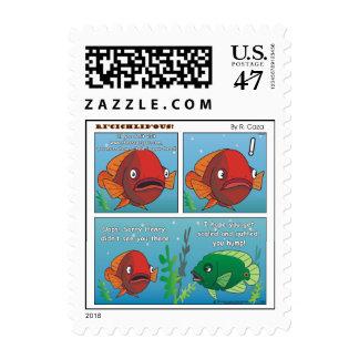 Oops! Sorry Henry Postage Stamp