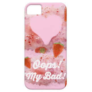 Oops, Strawberry Mess! iPhone 5 Case