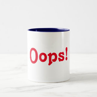 ¡OOPS! TAZA