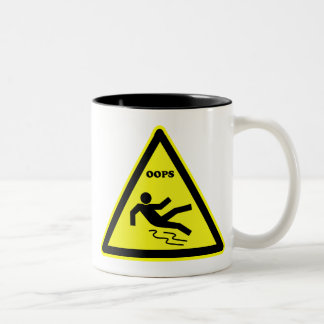 oops Two-Tone coffee mug