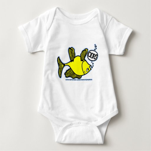 OOPS Up Side Down Fish! T Shirt