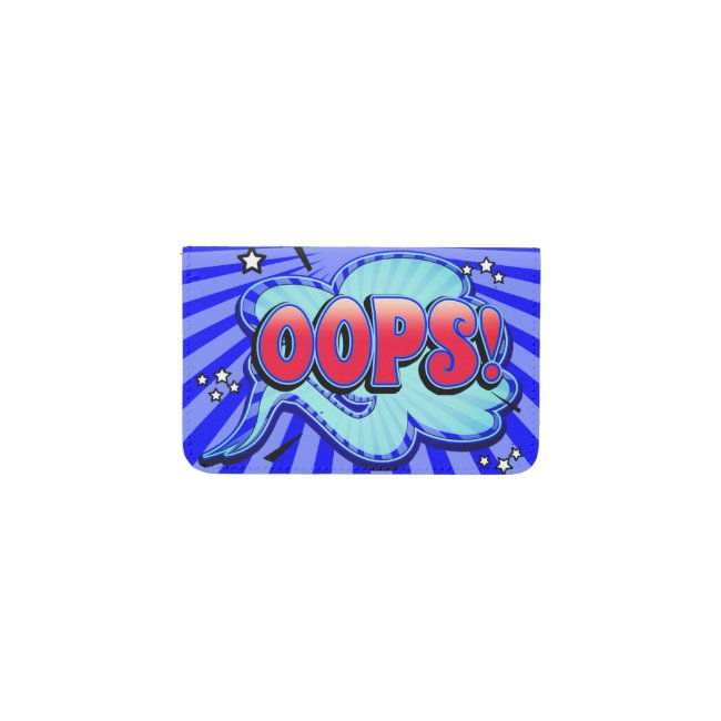 Oops! Word Bubble Card Holder