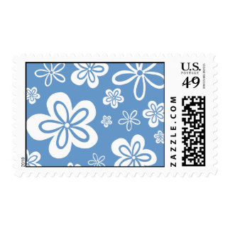 Oopsy Daisy - reverse blue Postage