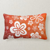 Oopsy Daisy - reverse on-fire Lumbar Pillow