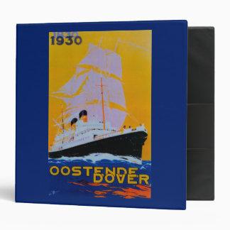 Oostende Dover Vintage PosterEurope Binder