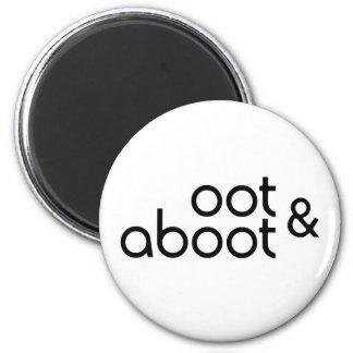 Oot & Aboot Magnet