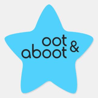 Oot & Aboot Star Sticker