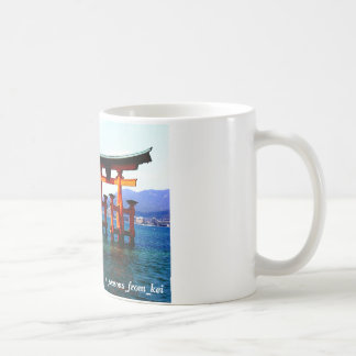 Ootorii ☆O-torii☆itukusima who stands in the sea Coffee Mug