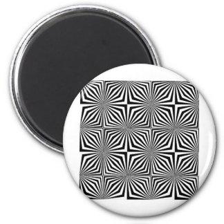 op-art2copy 2 inch round magnet