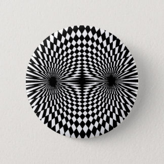 Op Art #12 Button
