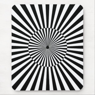 OP -Art #3 at Emporio Moffa Mouse Pad