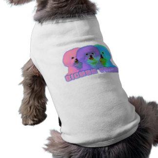 Op Art 3 - Bichon Frise Pet Clothing