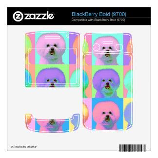 Op Art 9 - Bichon Frise BlackBerry Bold Decals