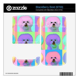 Op Art 9 - Bichon Frise Skin For BlackBerry Bold