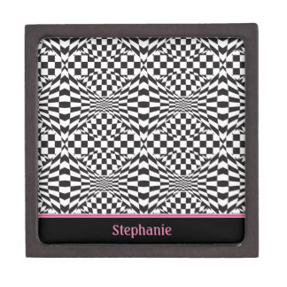 Op Art Background 1 Gift Box