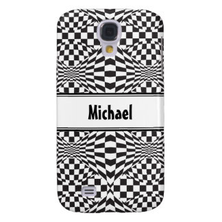 Op Art Background 1 Samsung Galaxy S4 Cover