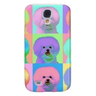 Op Art - Bichon Frise - Cody Samsung Galaxy S4 Cover