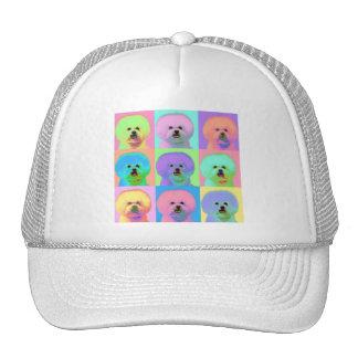 Op Art - Bichon Frise - Cody Trucker Hat