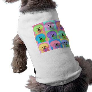 Op Art - Bichon Frise Pet Clothing