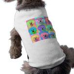 Op Art - Bichon Frise Pet T Shirt