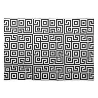 Op-Art Black & White Placemat