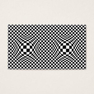 Op Art Business Card