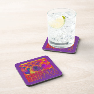 Op Art - Chinese Shar Pei Beverage Coaster