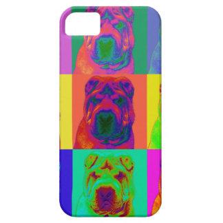 Op Art - Chinese Shar Pei iPhone SE/5/5s Case