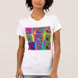 Op Art - Chinese Shar Pei T-shirt